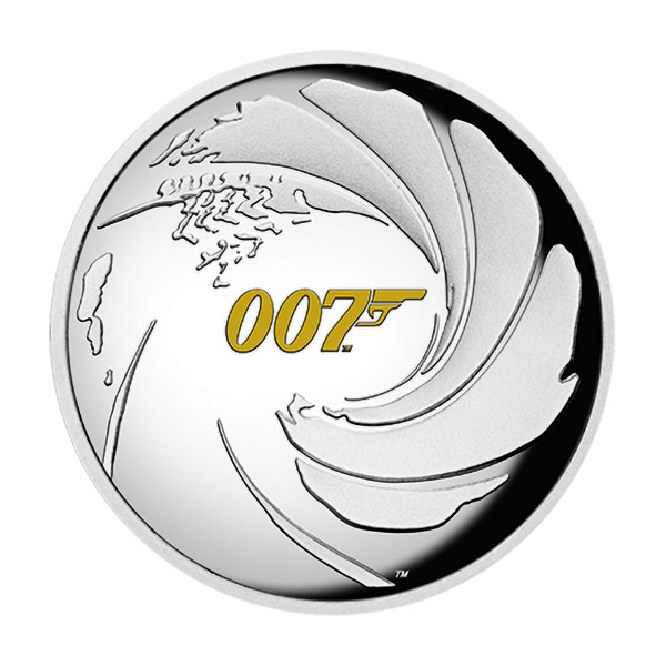James Bond - Die offizielle 007 Münze