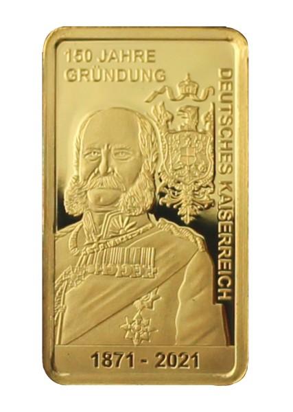 Kaiserreich Goldbarren