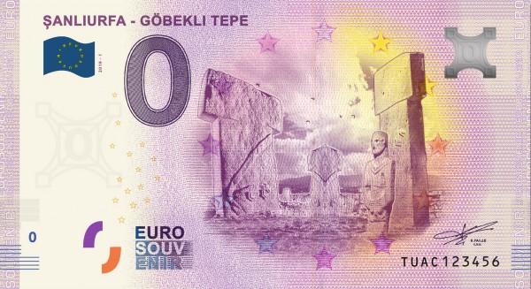 0 Euro Schein Gobekli Tepe