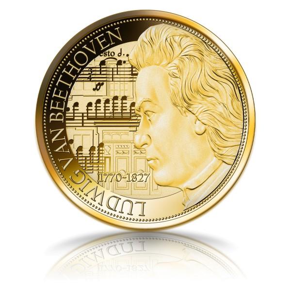 250. Geburtstag Ludwig van Beethoven Gedenkprägung