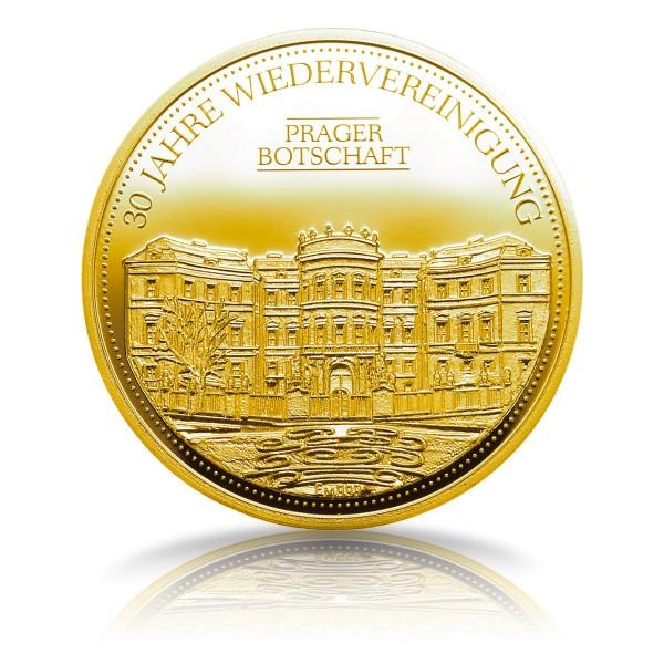 Prager Botschaft Sonderprägung Feingold