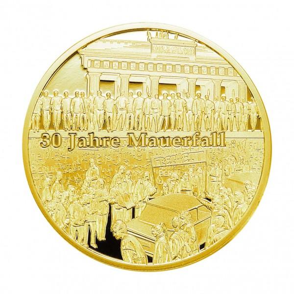 30 Jahre Mauerfall Sonderprägung Feingold