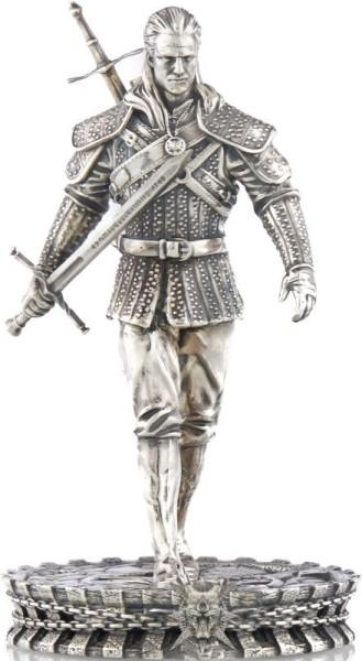 Geralt von Rivia Silberstatue