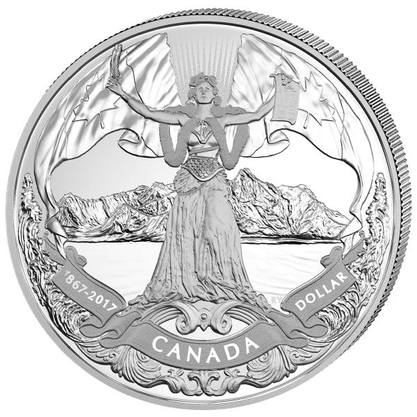150 Jahre Kanada - Die offizielle Silbermünze
