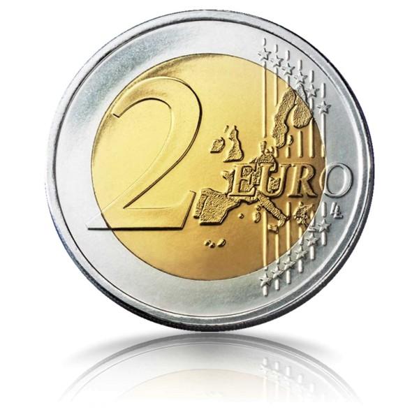 2 Euro Gedenkmünze 50 Jahre Kniefall von Warschau