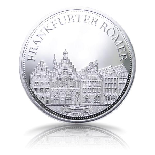 Der Frankfurter Römer Hessentaler Sonderprägung