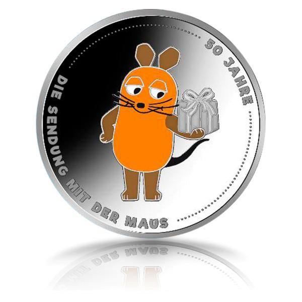 20 Euro Münze 50 Jahre Sendung mit der Maus