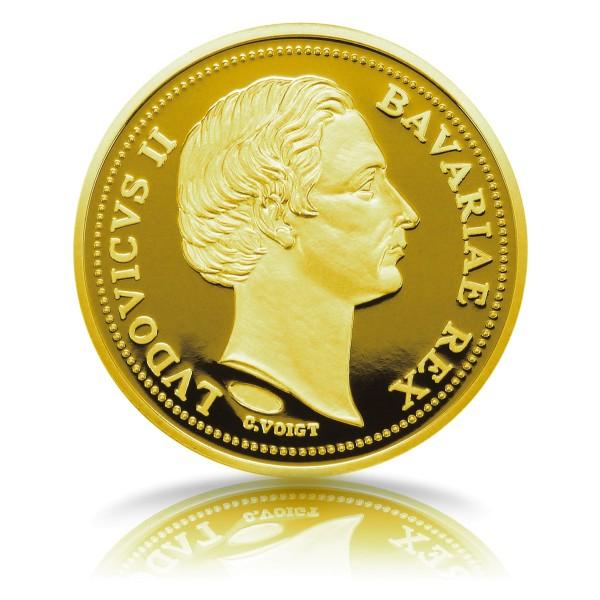 175. Geburtstag König Ludwig II. Gedenkprägung