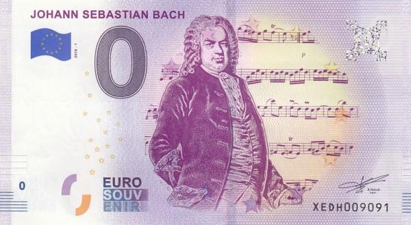 0 Euro Schein Bach