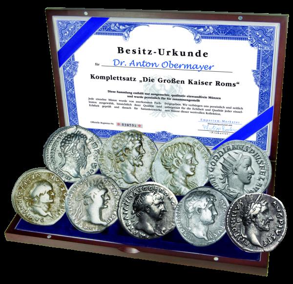 Komplettsatz - Die Großen Kaiser Roms