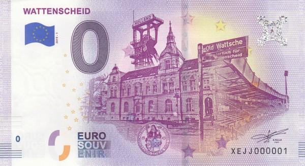 0 Euro Schein Wattenscheid