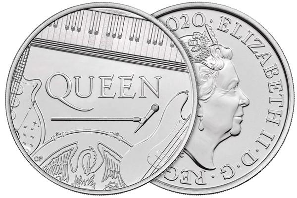 Die offizielle Queen Münze