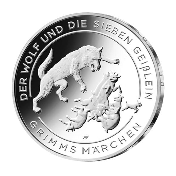 20 Euro Wolf und die sieben Geißlein