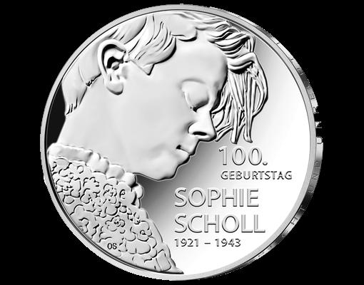 20 Euro Münze Sophie Scholl