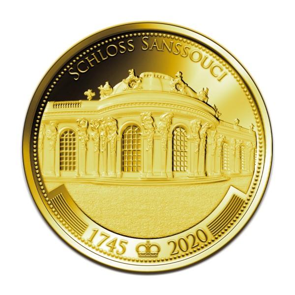 275 Jahre Schloss Sanssouci - Feingold