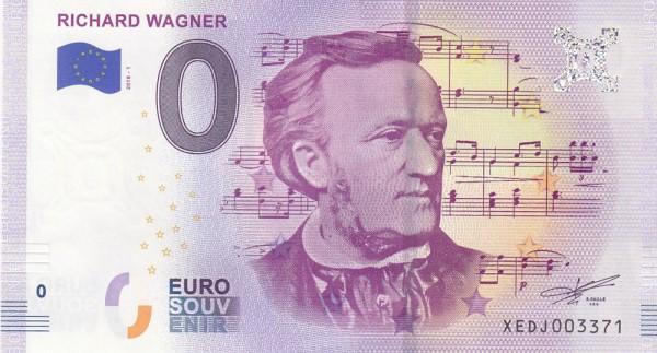 0 Euro Schein Richard Wagner