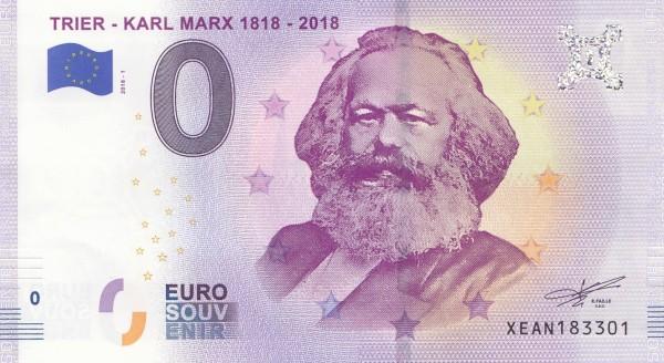 0 Euro Schein Karl Marx
