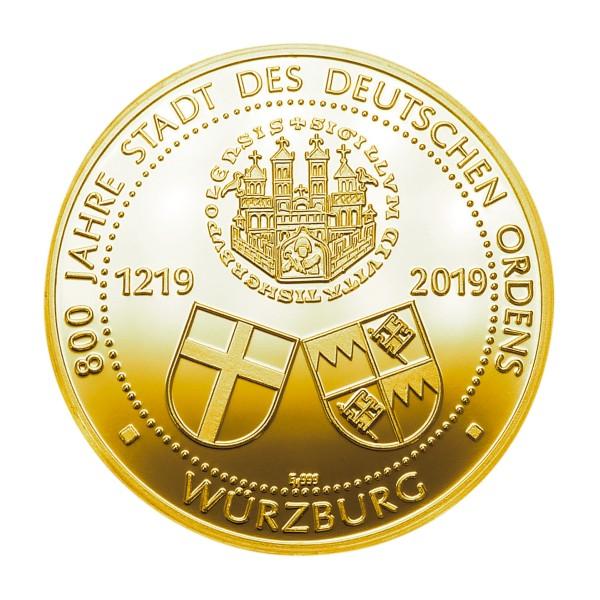 800 Jahre Deutscher Orden Würzburg Feingold