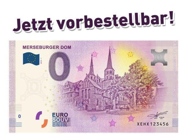 0 Euro Schein Merseburger Dom