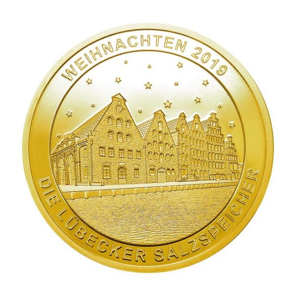 Lübecker Weihnachtstaler 2019