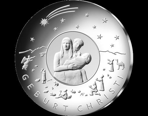 25 Euro Münze Christi Geburt