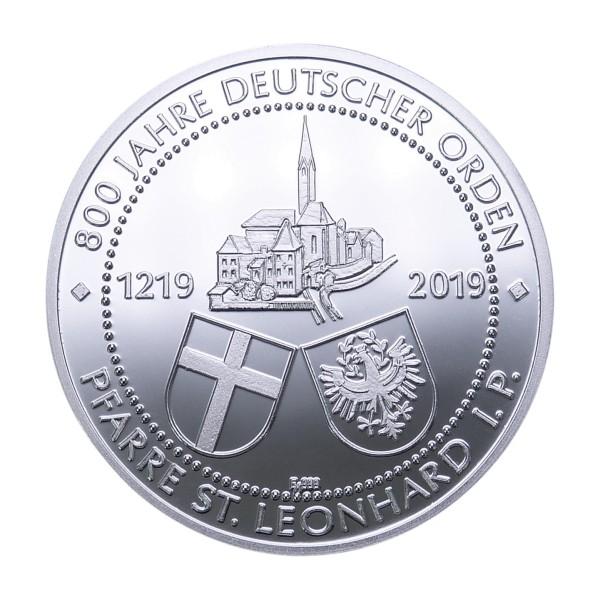 800 Jahre Deutscher Orden Sonderprägung St. Leonard