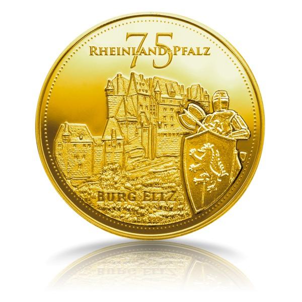 75 Jahre Rheinland Pfalz Sonderprägung Feingold
