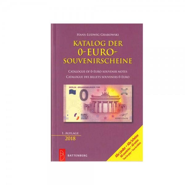 Katalog der 0 Euro Scheine