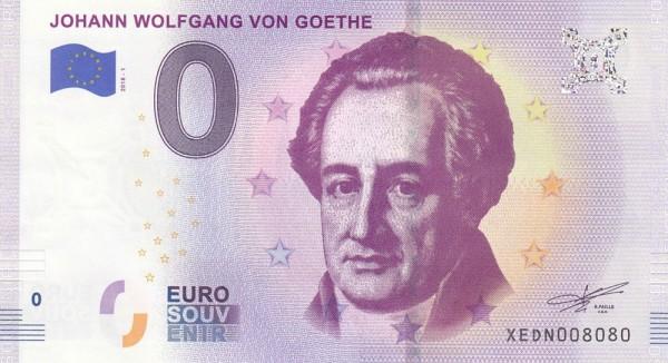 0 Euro Schein Goethe