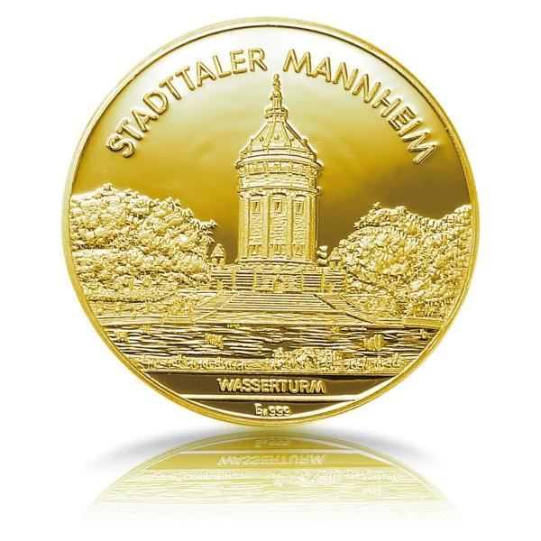 Stadttaler Mannheim - Wasserturm