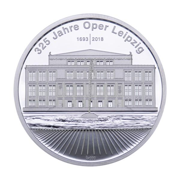 325 Jahre Oper Leipzig Sonderprägung