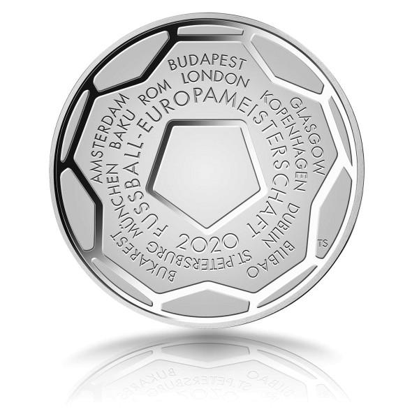 20 Euro Münze Europameisterschaft 2020