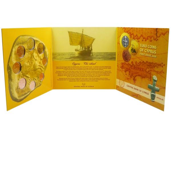 Euro Münzen Zypern 2008