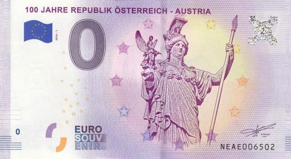 0 Euro Schein Österreich