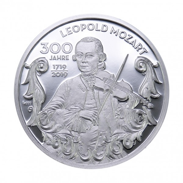 300 Jahre Leopold Mozart Vorderseite