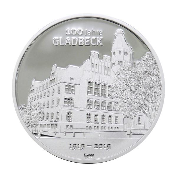100 Jahre Gladbeck Sonderprägung