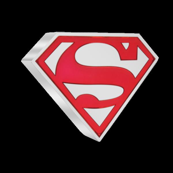 Superman Silbermünze