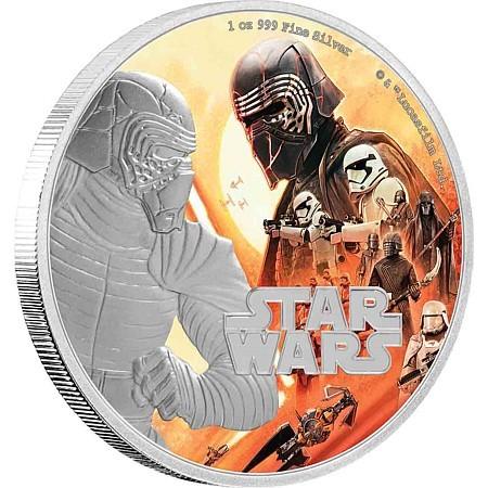 Kylo Ren - Die offizielle Star Wars Münze