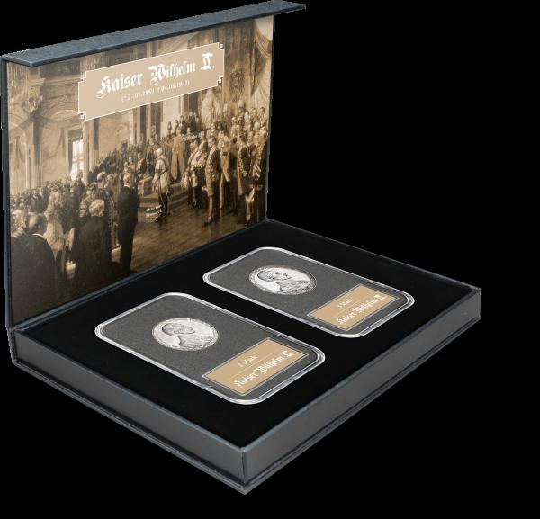 Wilhelm II: Silbermünzen Thronjubiläum