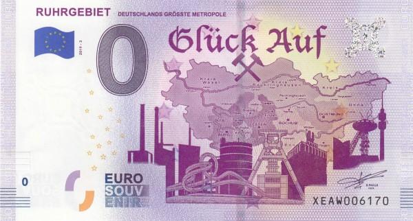 0 Euro Schein Ruhrgebiet