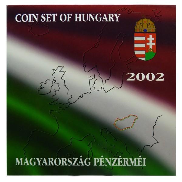 Kursmünzen Ungarn 2002 Außen