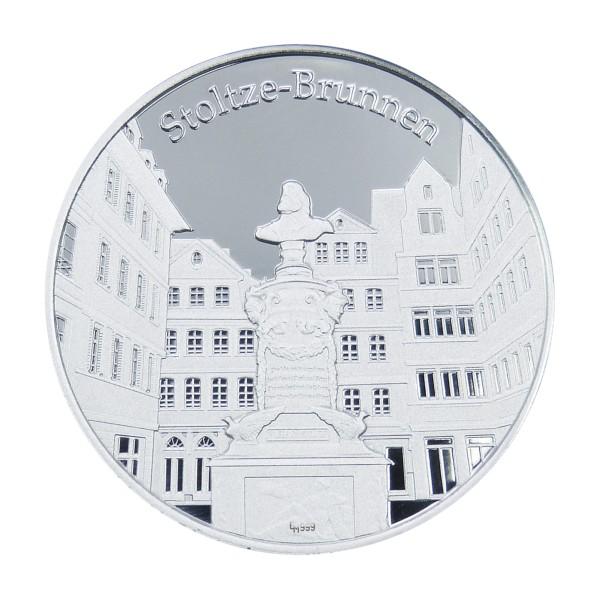 Frankfurter Stadttaler - Stoltze Brunnen