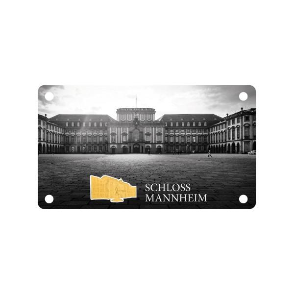 Schloss Mannheim - Feingold Shape Prägung