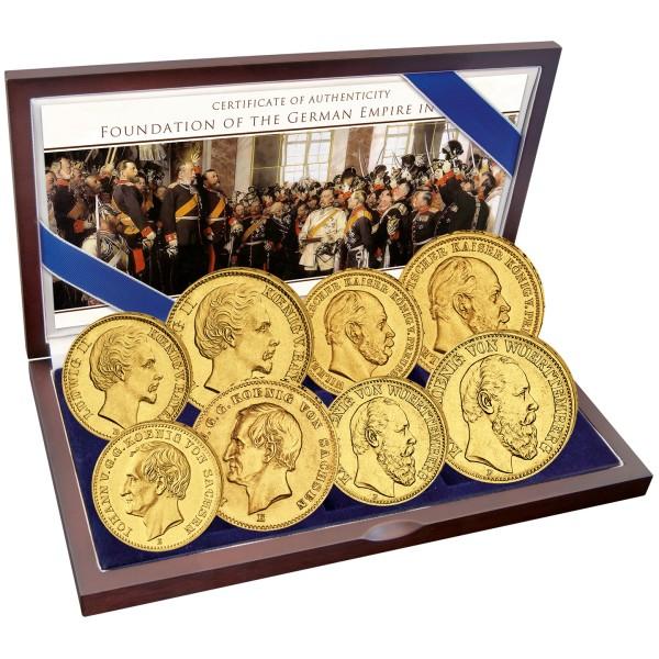 150 Jahre Deutsches Kaiserreich - Goldmünzen