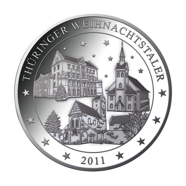 Thüringer Weihnachtstaler 2011
