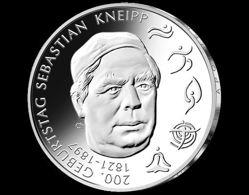20 Euro Münze 200. Geburtstag Sebastian Kneipp