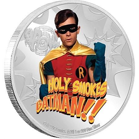 Robin Münze - Eine offizielle DC Prägung
