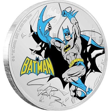 Batman - 60 Jahre Justice League offizielle DC Münze