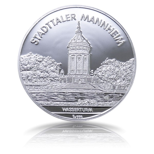 Stadttaler Mannheim . - Wasserturm