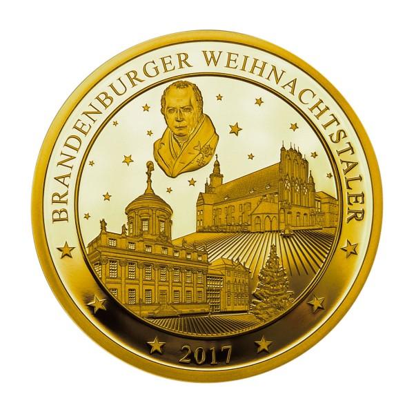 Brandenburger Weihnachtstaler 2018